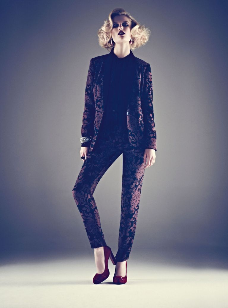 marks and spencer autumn/winter 2012-fashion-woman and home