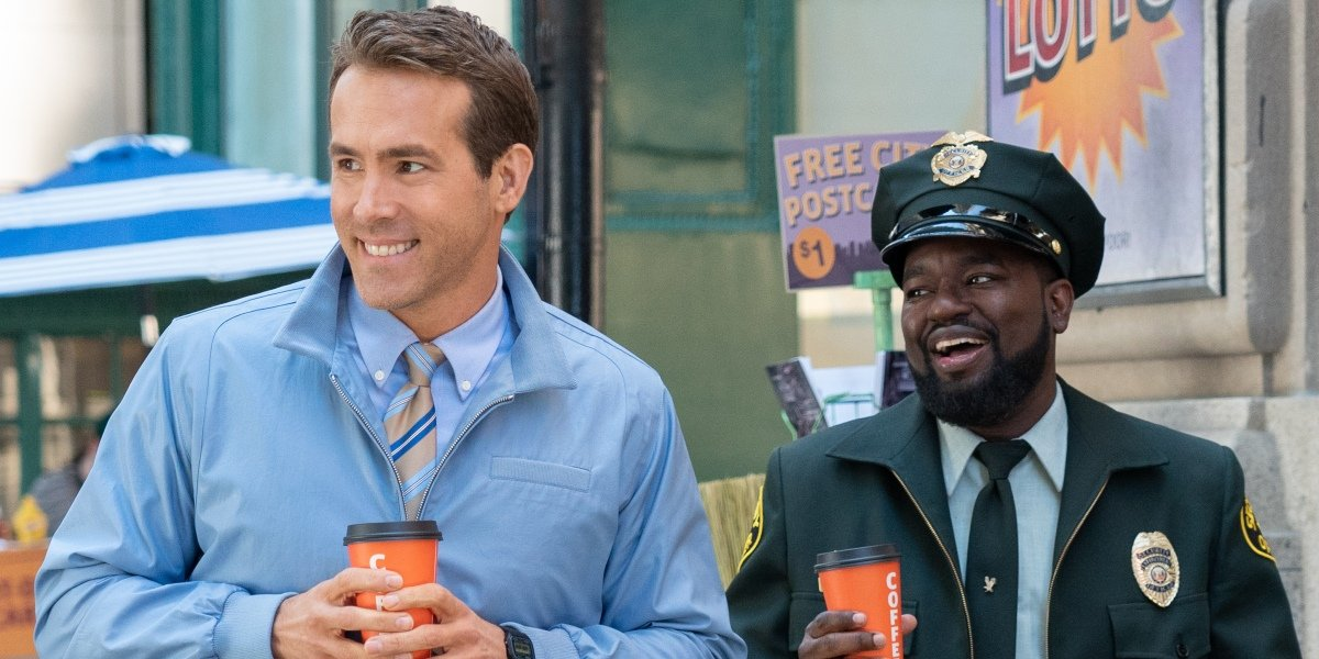 Ryan Reynolds and Lil Rel Howery in Free Guy