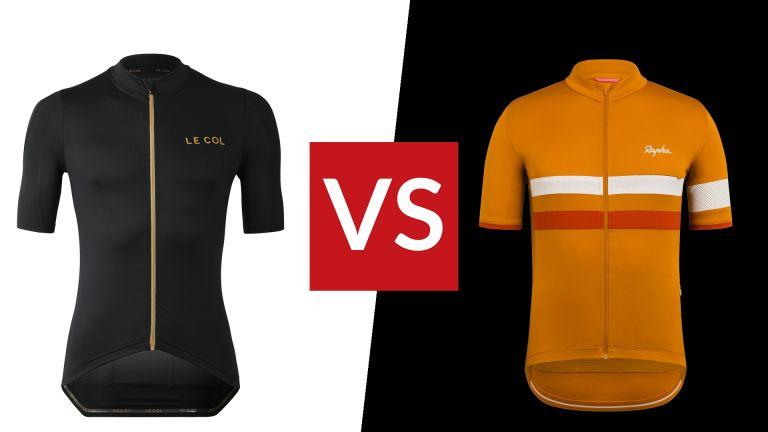 Rapha Brevet vs Le Col Pro