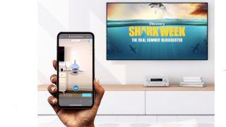 Shark Week Verizon Media AR Discovery Plus