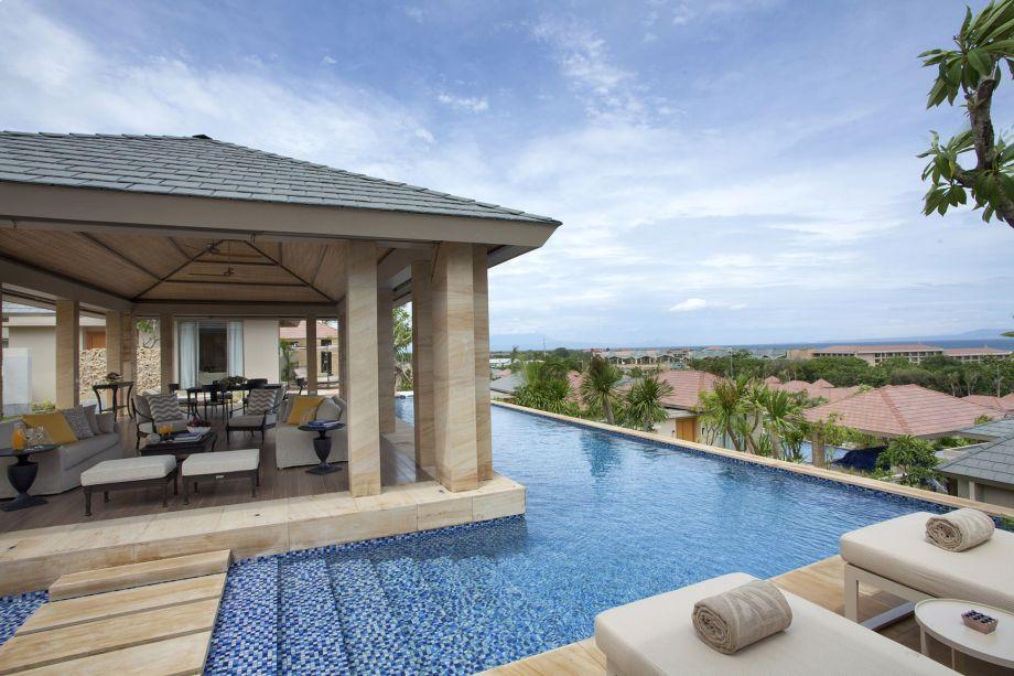 All inclusive villa