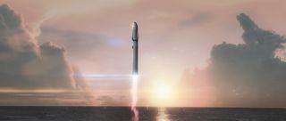 Interplanetary Transport System art