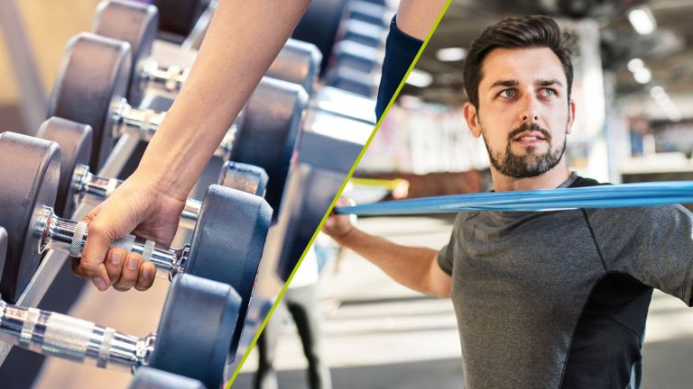 Resistance bands vs weights: which is better for your workout?