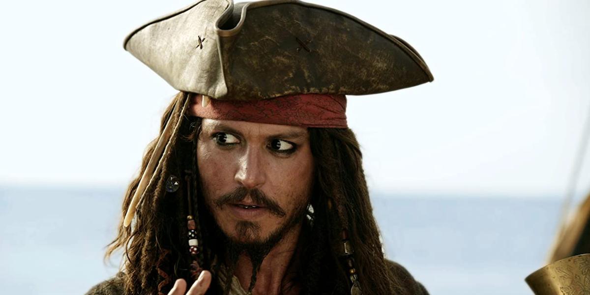 Johnny Depp in Pirates 2