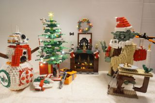 """Steve Leuer was the Grand Prize Winner of the 2020 """"Star Wars Holiday Contest"""" from LEGO."""