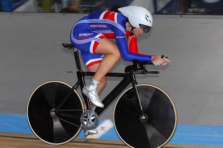 Rebecca Romero (GB), individual pursuit