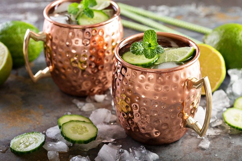 Why Your Moscow Mule Drink May Be Hazardous