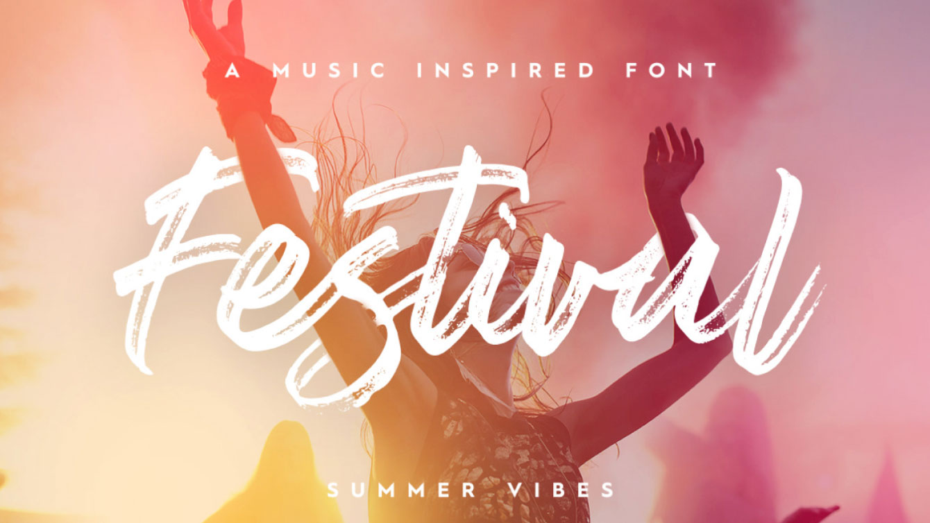 Festival free font