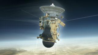 Cassini's Death Dive