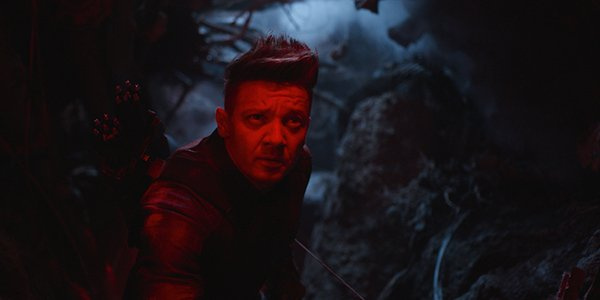Hawkeye in Avengers: Endgame
