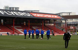 Brentford v Brighton and Hove Albion – Sky Bet Championship – Griffin Park