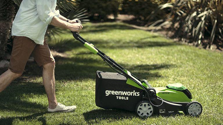 Best lawn mower: Greenworks cordless lawn mower