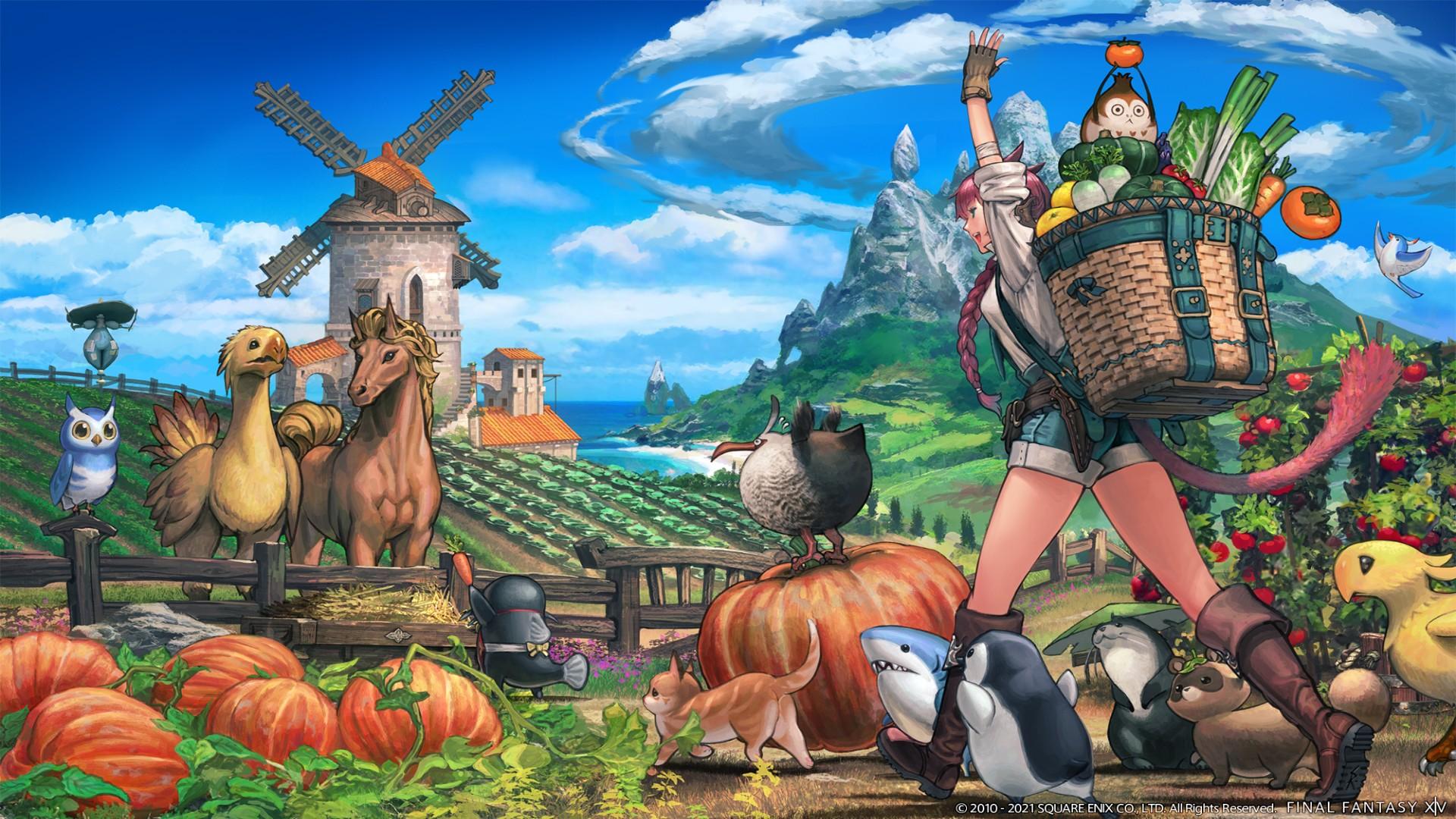Final Fantasy 14 Island Sanctuary