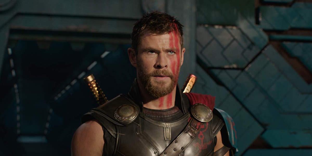 Chris Hemsworth as Thor in Ragnarok