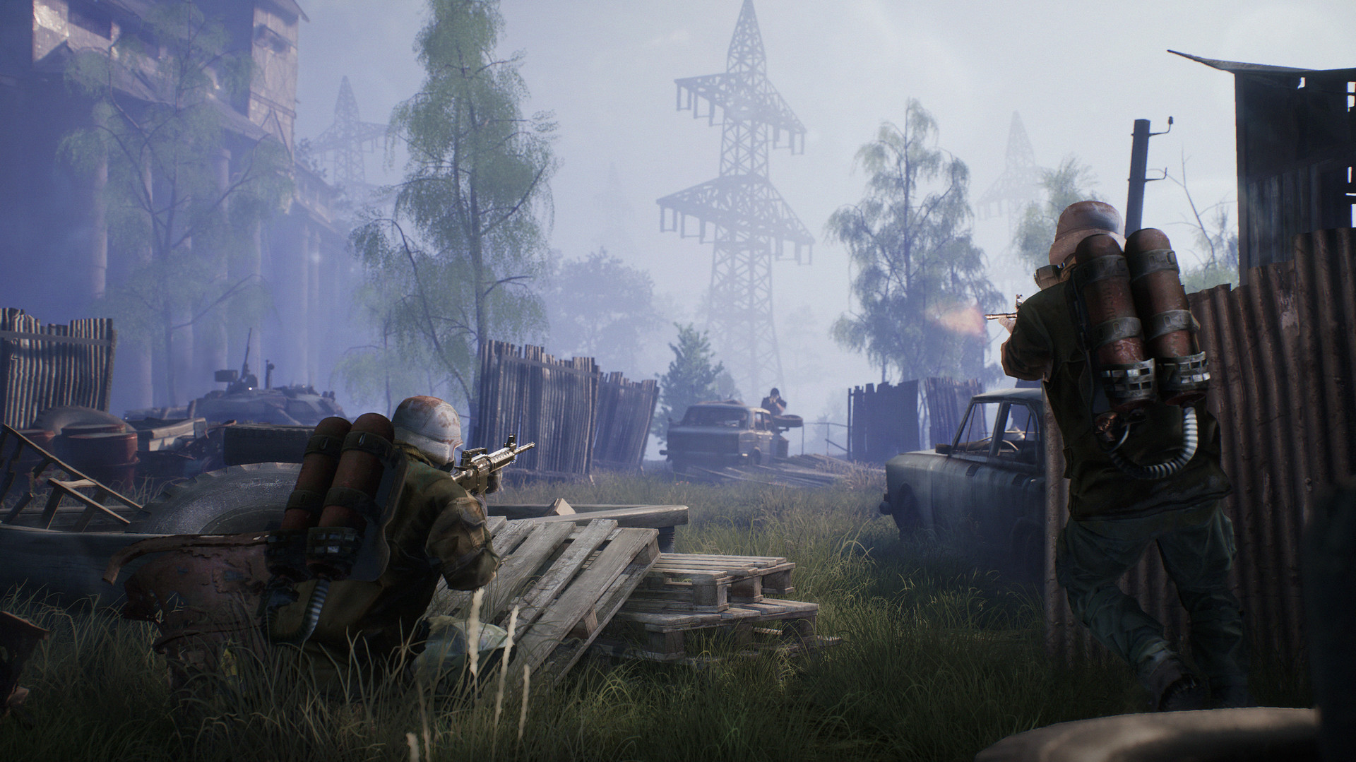 Stalker-inspired battle royale Fear the Wolves Early Access release date set (Updated) | PC Gamer