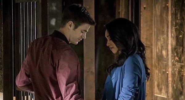 the flash season 3 premiere barry iris