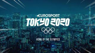 Eurosport Tokyo Olympics logo