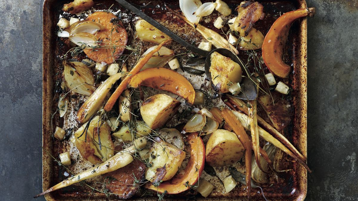 Autumn roasted vegetables recipe: try this take on a weekend roast