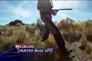 Californian Robert Pitzer hunting near Lovelock, N.V. Credit: ABC News 10