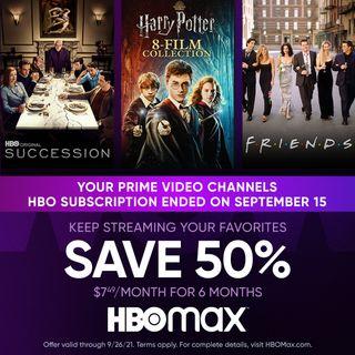 HBO Max promo