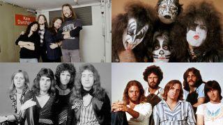 Metallica, Kiss, Queen, Eagles