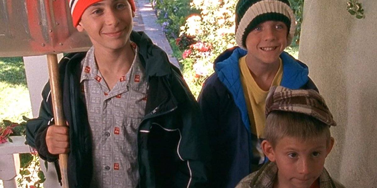 Justin Berfield, Frankie Muniz, and Erik Per Sullivan on Malcolm in the Middle