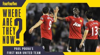 Paul Pogba debut