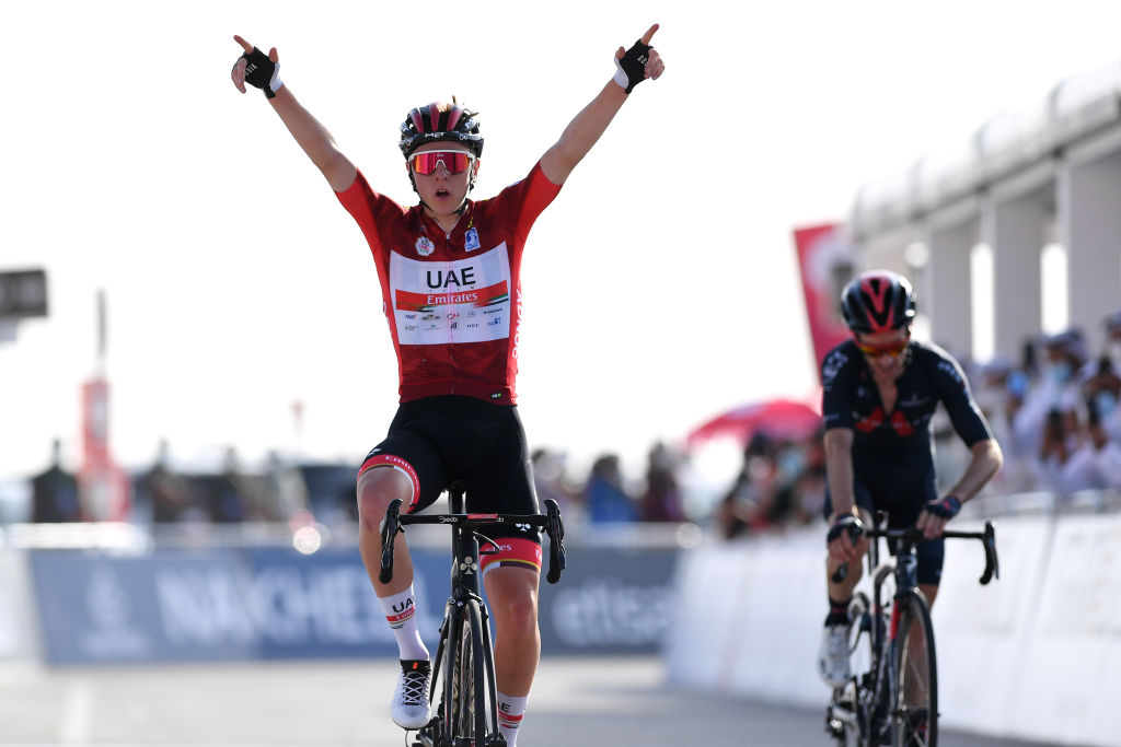 Tadej Pogacar (UAE Team Emirates) wins stage 3