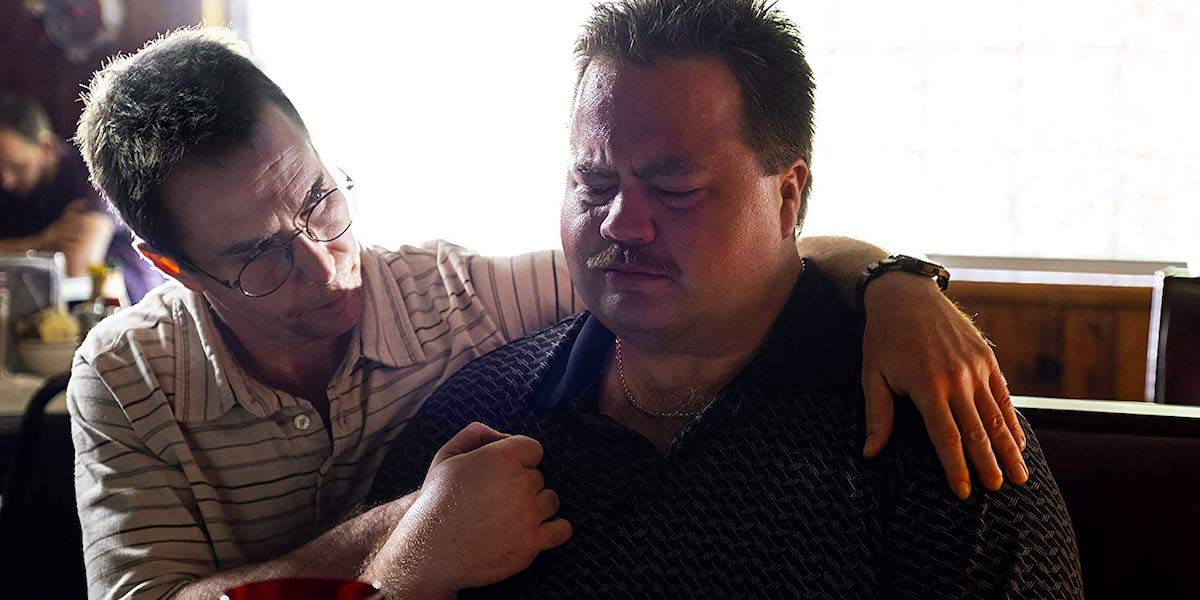Sam Rockwell and Paul Walter Hauser in Richard Jewell