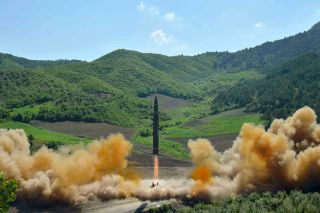 North Korea ICBM Test, July 2017
