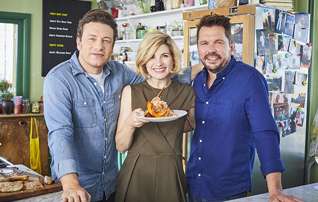 Jamie and Jimmy's Friday Night Feast: EP 1Jodie Whittaker