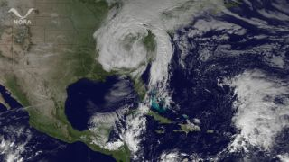 East coast storm hits several states.