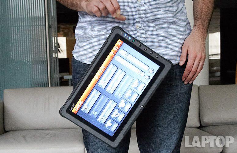 Getac F110 Rugged Tablet Reviews Laptop Mag