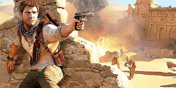 Nathan Drake in Uncharted 3.