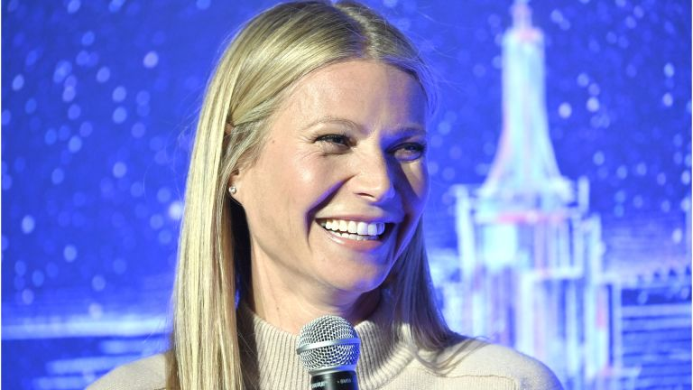 NEW YORK, NEW YORK - FEBRUARY 03: Gwyneth Paltrow hosts a panel discussion at the JVP International Cyber Center grand opening on February 03, 2020 in New York City. (Photo by Gary Gershoff/Getty Images)