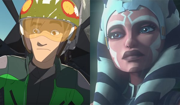 Star Wars Resistance and The Clone Wars animated series