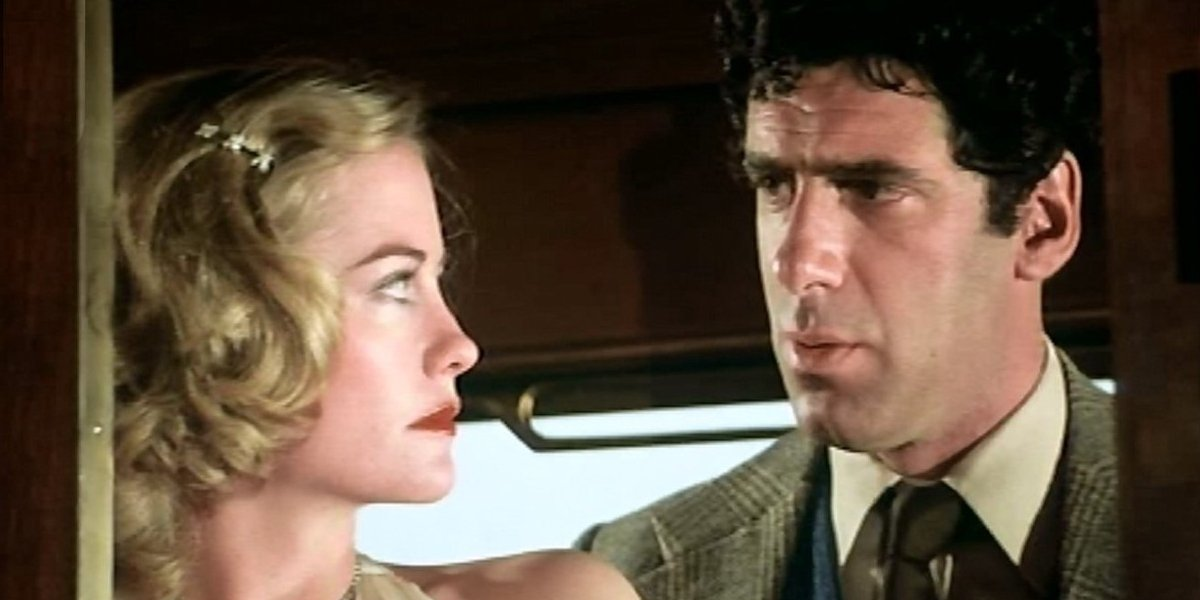 Cybill Shepherd and Elliot Gould in The Lady Vanishes