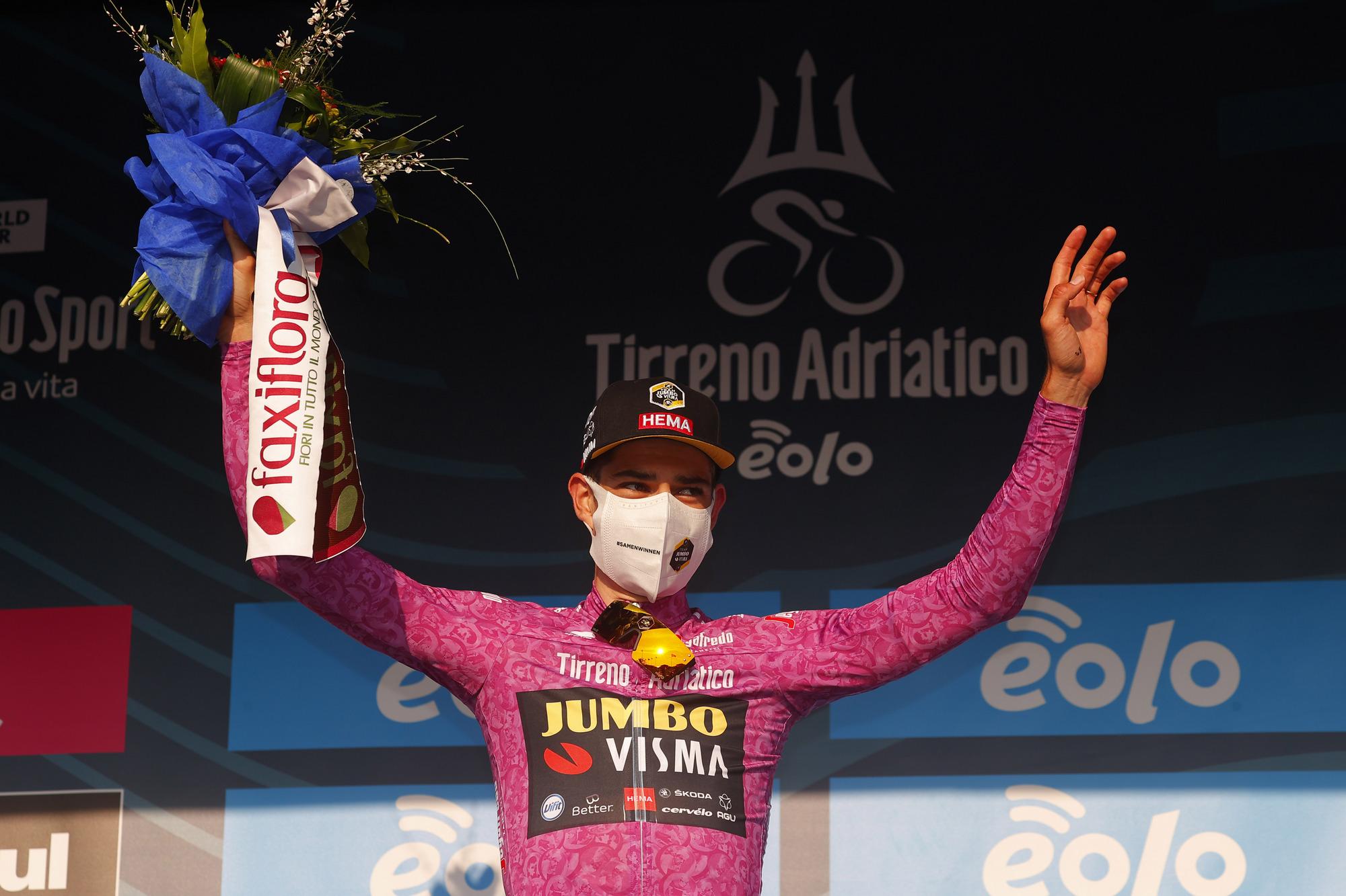 Tirreno Adriatico 2021 56th Edition 1st stage Lido di Camaiore Lido di Camaiore 156 km 10032021 Wout Van Aert BEL Jumbo Visma photo Luca BettiniBettiniPhoto2021