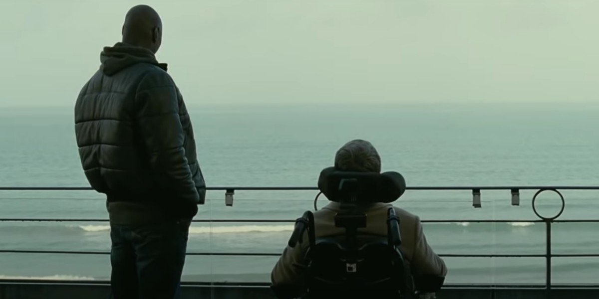Omar Sy and François Cluzet in The Intoucables