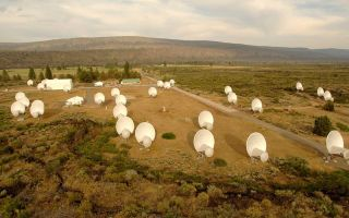 Allen Telescope Array in California.