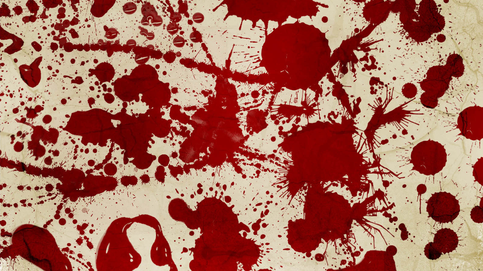Photoshop brush: blood spatter
