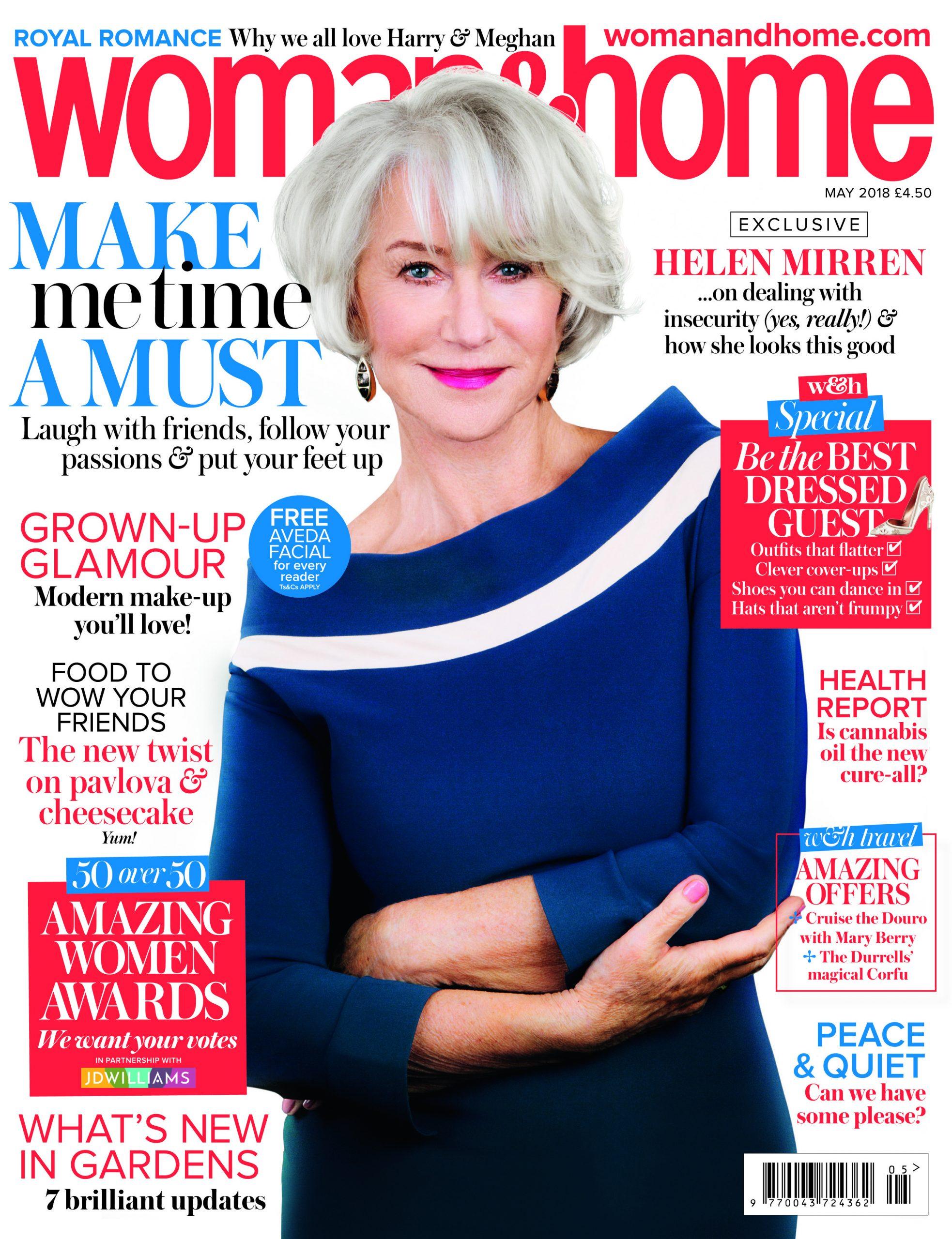 Woman & Home May 2018 - Helen Mirren
