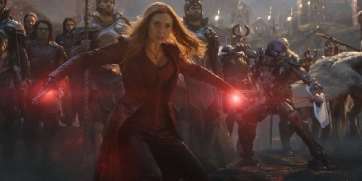 Scarlet Witch in Avengers: Endgame