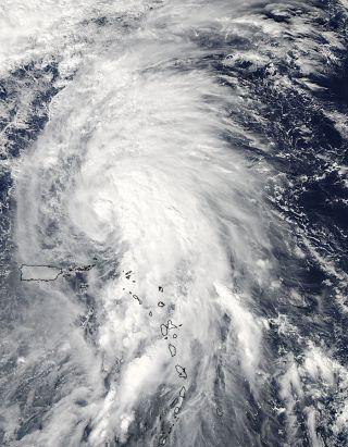 Tropical Storm Rafael