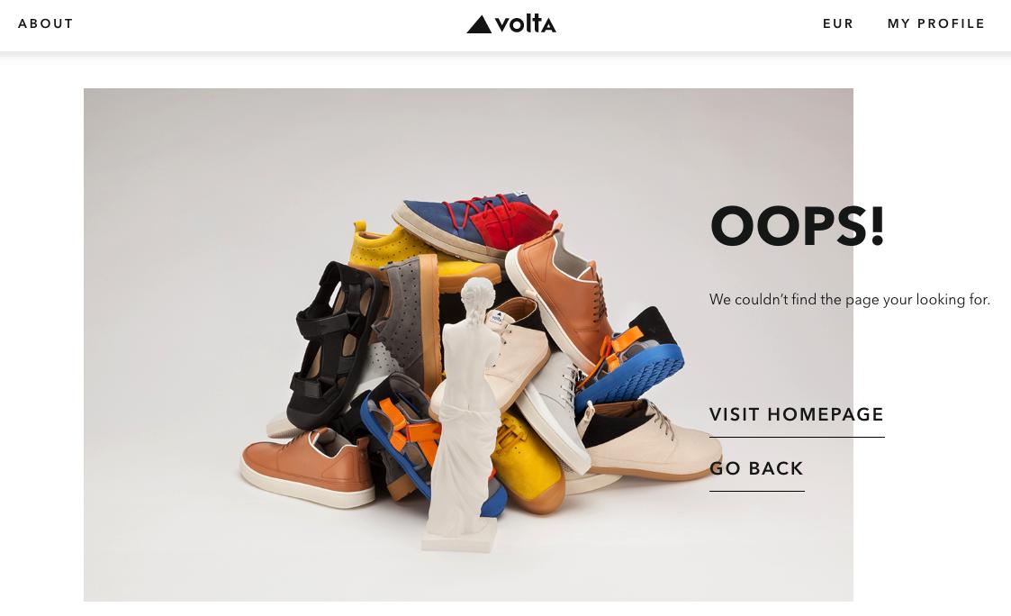 404 pages: Volta