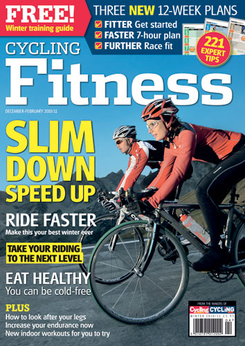 Cycling Fitness magazine winter 2010 cover