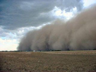 dust storms, sandstorms, what is a dust storm