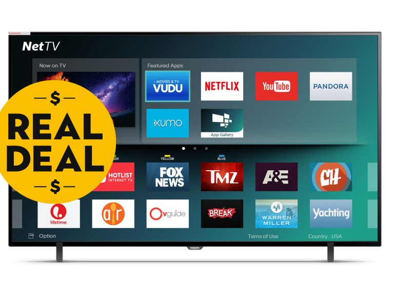 Philips 65 inch 4k smart LED tv from Philips