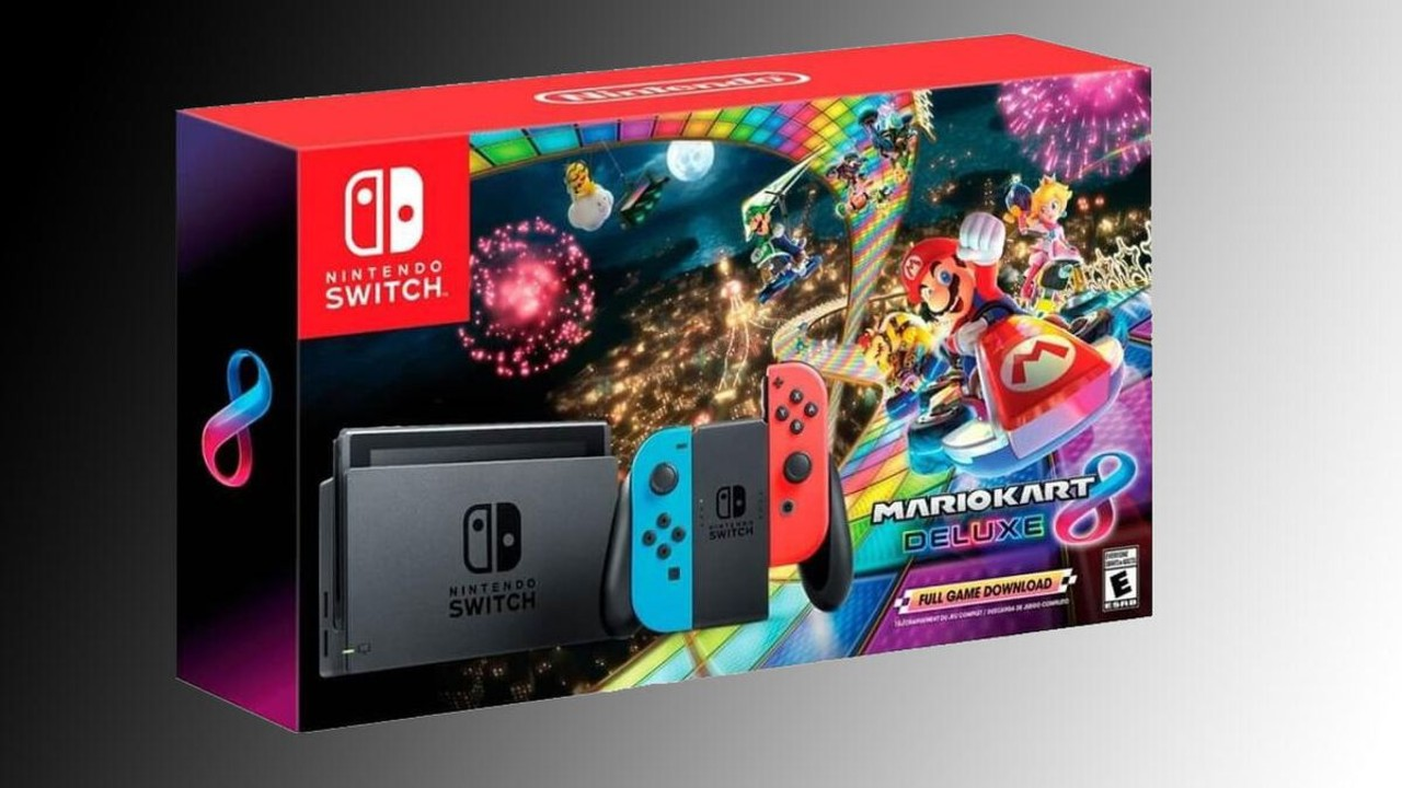 Wa Hoo Get A Nintendo Switch With Mario Kart 8 Deluxe For
