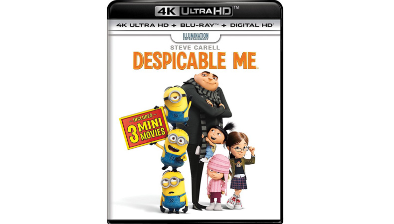 Despicable Me is the first 4K Blu-ray disc with Dolby Vision